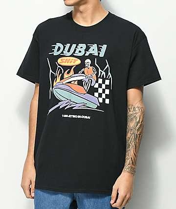 Samborghini Dubai Jet Ski Black T-Shirt