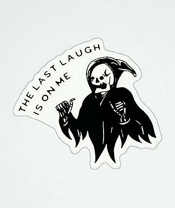 Samborghini Last Laugh Sticker