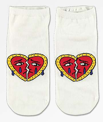 Samborghini Sad Heart Ankle Socks