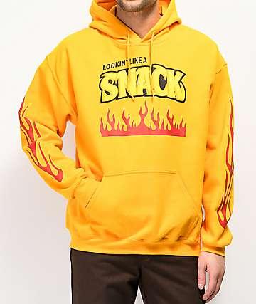 Samborghini Snack Yellow Hoodie