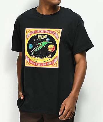 Samborghini Take Off On You Black T-Shirt