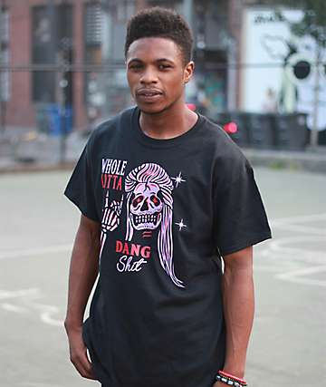 Samborghini Whole Lotta Dang Black T-Shirt