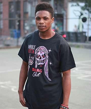 Samborghini Whole Lotta Dang camiseta negra