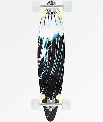 "San Clemente Jelly 34"" Pintail Longboard Complete"