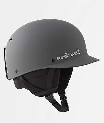 Sandbox Classic 2.0 Grey Snowboard Helmet