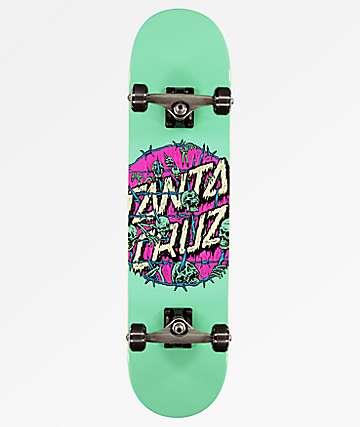 "Santa Cruz Abyss Dot 7.75"" Skateboard Complete"