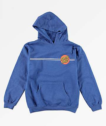 Santa Cruz Boys Dot Royal Hoodie