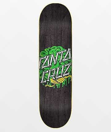 "Santa Cruz Brain Dot Hard Rock Maple 8.25"" Skateboard Deck"