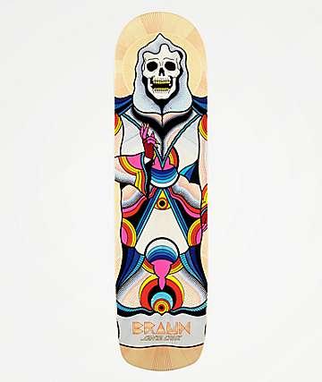 "Santa Cruz Braun Cosmic Reaper 8.12"" Skateboard Deck"