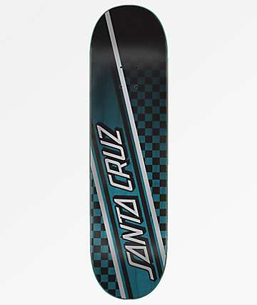 "Santa Cruz Checkstrip Hardrock 8.25"" Skateboard Deck"