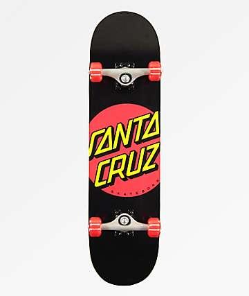 "Santa Cruz Classic Dot 8.25"" Skateboard Complete"