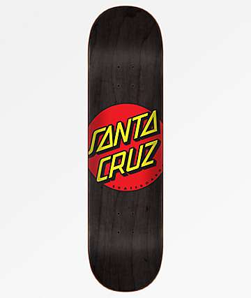 Santa Cruz Classic Dot Wide Tip 8.0 Skateboard Deck