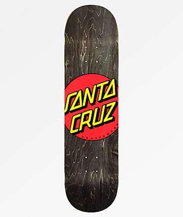 "Santa Cruz Classic Dot Wide Tip 8.25"" Skateboard Deck"