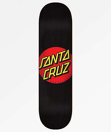 "Santa Cruz Classic Dot Wide Tip 8.375"" Skateboard Deck"