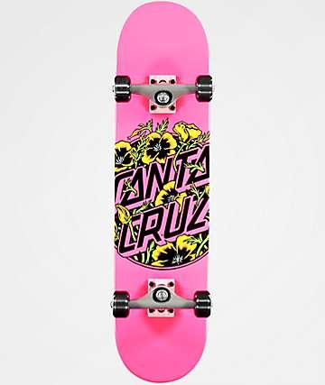 """Santa Cruz Colored Poppy 7.75"""" completo de skate"""