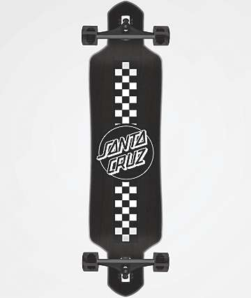 "Santa Cruz Contest 41"" Drop Through Longboard Complete"