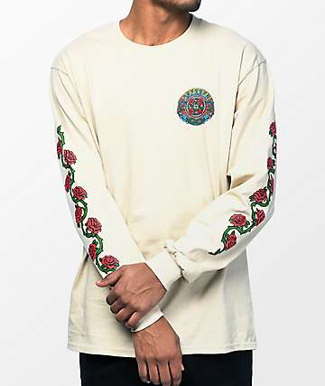 Santa Cruz Dressen Roses Long Sleeve T-Shirt
