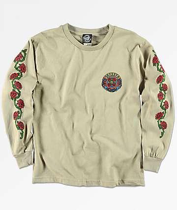 Santa Cruz Dressen Roses camiseta de manga larga para niños