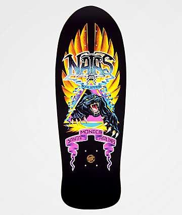 """Santa Cruz Edmiston Natas Panther 10.53"""" Reissue Skateboard Deck"""