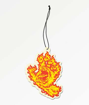 Santa Cruz Flame Hand Air Freshener
