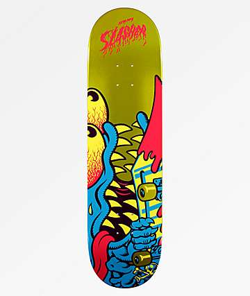"Santa Cruz Flashback Slasher 8.25"" Skateboard Deck"