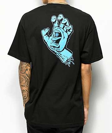 Santa Cruz Hand camiseta negra