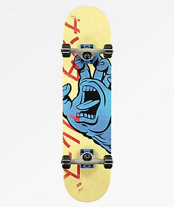"Santa Cruz Hando 7.75"" Skateboard Complete"