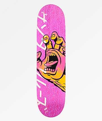 "Santa Cruz Hando Taper Tip 8.0"" Skateboard Deck"