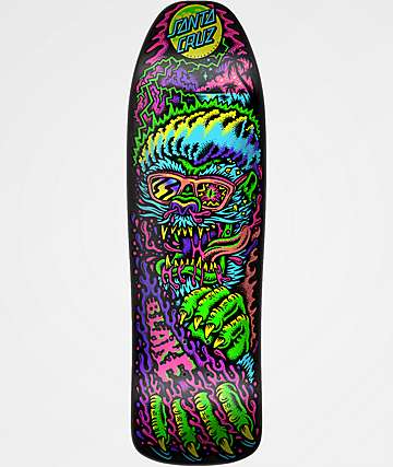 "Santa Cruz Johnson Beach Wolf 9.3"" Skateboard Deck"