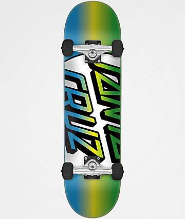 "Santa Cruz Missing Dot 8.25"" Skateboard Complete"