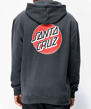 Santa Cruz Multi Dot Charcoal Hoodie