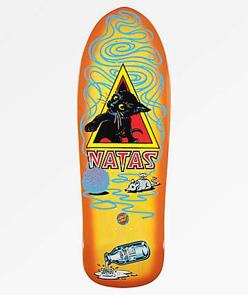 "Santa Cruz Natas Kitten 9.89"" Skateboard Deck"