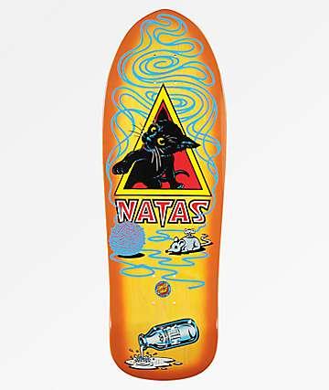 "Santa Cruz Natas Kitten 9.89"" Skateboard Deck"