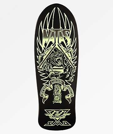 "Santa Cruz Natas Panther Glow Reissue 10.5"" Skateboard Deck"