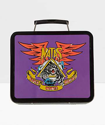 Santa Cruz Natas Panther Purple Lunch Box