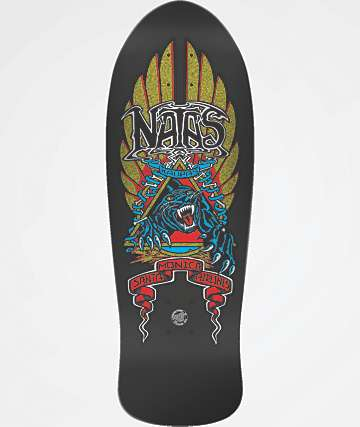 "Santa Cruz Natas Panther Reissue 10.5"" Skateboard Deck"