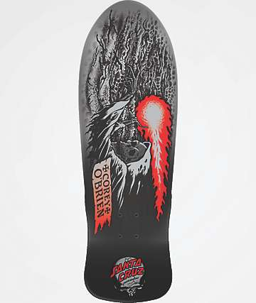"Santa Cruz O'Brien Reaper Reissue 9.85"" Skateboard Deck"