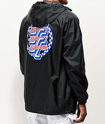 Santa Cruz OGSC Black Anorak Jacket