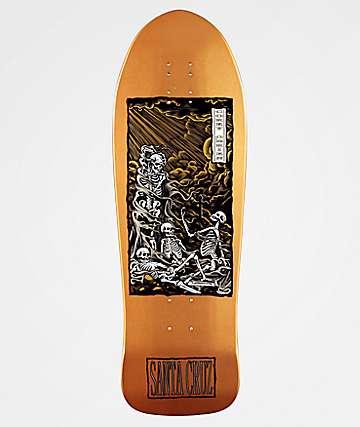 "Santa Cruz Obrien Purgatory 9.85"" Skateboard Deck"