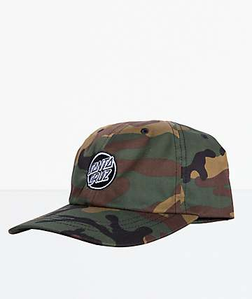 Santa Cruz Opus Dot Camo Strapback Hat