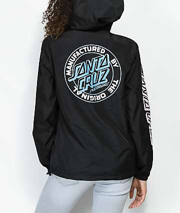 Santa Cruz Original Dot chaqueta anorak negra