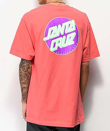 Santa Cruz Other Dot Coral T-Shirt