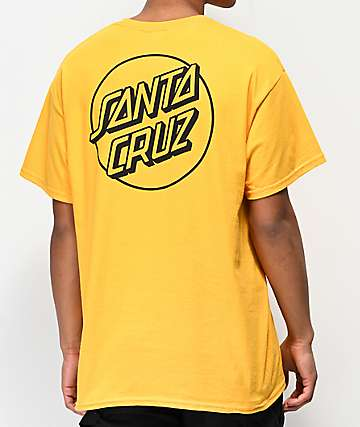 Santa Cruz Other Dot Gold T-Shirt
