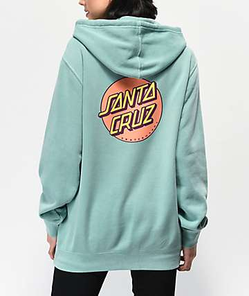 084eac39d24 Santa Cruz Other Dot Mint Hoodie