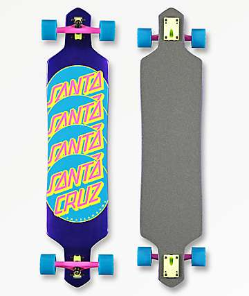 "Santa Cruz Other Dot Repeat 41"" longboard completo"