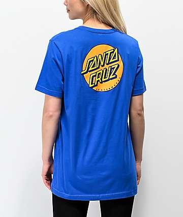 Santa Cruz Other Dot Royal Blue T-Shirt