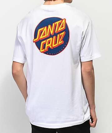 Santa Cruz Other Dot White T-Shirt