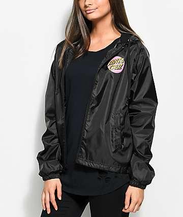 Santa Cruz Other Dot chaqueta cortavientos en negro