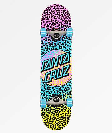 "Santa Cruz Prowl Dot 7.5"" Skateboard Complete"