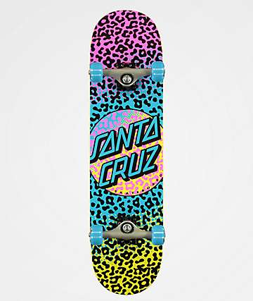 "Santa Cruz Prowl Dot 8.0"" Skateboard Complete"